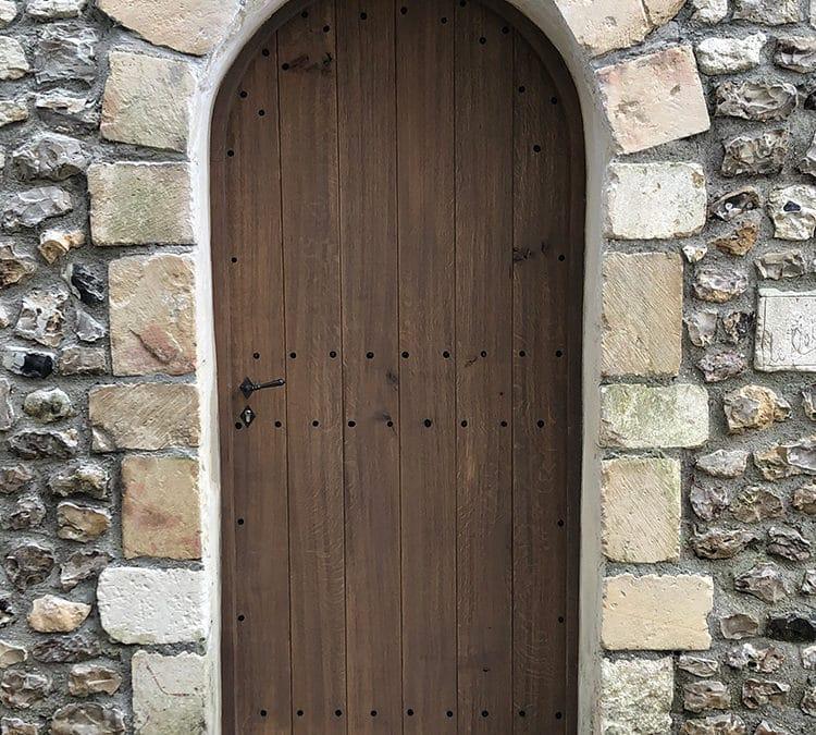 Porte ancienne – propriété